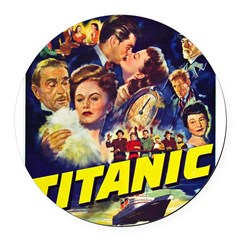 $9.99 Titanic Movie Round Car Magnet