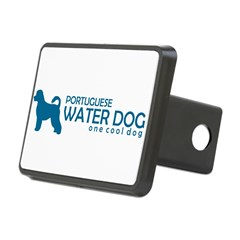 "P. Water Dog ""One Cool Dog"" Rectangular Hitch Cover"