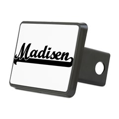 Black jersey: Madisen Rectangular Hitch Cover