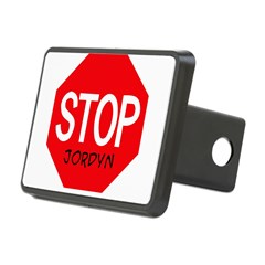 Stop Jordyn Rectangular Hitch Cover