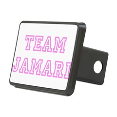 Pink team Jamari Rectangular Hitch Cover