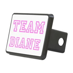 Pink team Diane Rectangular Hitch Cover
