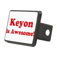 Keyon is Awesome Rectangular Hitch Cover