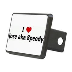 I Love Jose aka Speedy Rectangular Hitch Cover