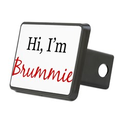 Hi, I am Brummie Rectangular Hitch Cover