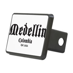 Medellin1 Rectangular Hitch Cover