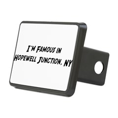 Famous in Hopewell Rectangular Hitch Cover