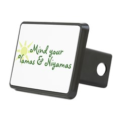 YogaMoxie Rectangular Hitch Cover