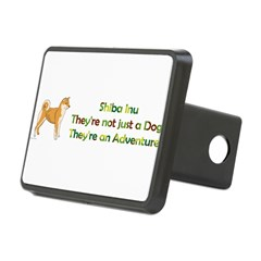 Shiba Inu Rectangular Hitch Cover