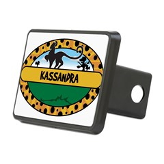 KASSANDRA - safari Rectangular Hitch Cover