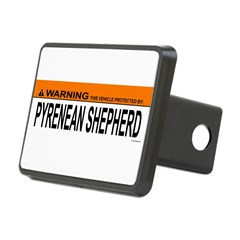 PYRENEAN SHEPHERD Rectangular Hitch Cover
