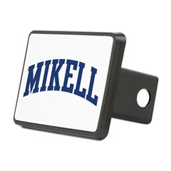 MIKELL design (blue) Rectangular Hitch Cover