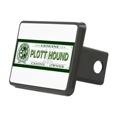 PLOTT HOUND Rectangular Hitch Cover
