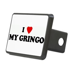 I Love MY GRINGO Rectangular Hitch Cover