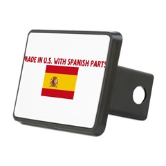 MADE IN US WITH SPANISH PARTS Rectangular Hitch Cover