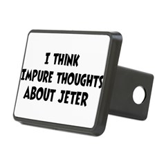 Jeter (impure thoughts} Rectangular Hitch Cover