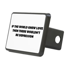 DEPRESSION Rectangular Hitch Cover