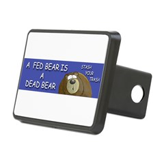 BEAR Rectangular Hitch Cover
