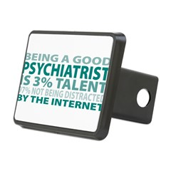 Good Psychiatrist Rectangular Hitch Cover