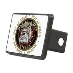 Devil Dog Vet Rectangular Hitch Cover