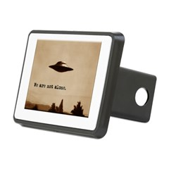 X-Files - We Are Not Alone Rectangular Hitch Cover