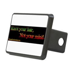 Not your mind Rectangular Hitch Cover