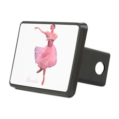 Giselle Ballet Oval Rectangular Hitch Cover