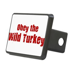 Obey the Wild Turkey Rectangular Hitch Cover