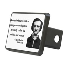 Edgar Allan Poe 11 Rectangular Hitch Cover
