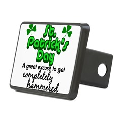 St. Patrick's Day Rectangular Hitch Cover