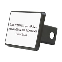 Helen Keller Rectangular Hitch Cover