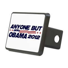 Anyone But Obama Rectangular Hitch Cover