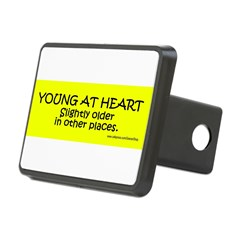 Young At Heart. Slightly older in other place Rectangular Hitch Cover