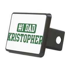 Number 1 Dad - Kristopher Rectangular Hitch Cover