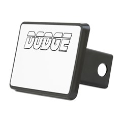 Dodge Rectangular Hitch Cover