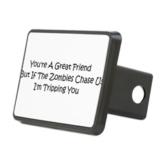 If the zombies chase us Rectangular Hitch Cover
