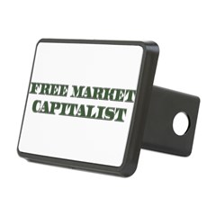 Free Market Capitalist Rectangular Hitch Cover
