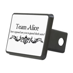Team Alice Theft Rectangular Hitch Cover