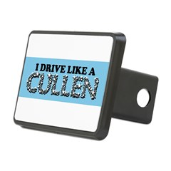 drive like a cullen remix Rectangular Hitch Cover