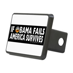 Anti-Obama Obama Fails America Survives Rectangular Hitch Cover