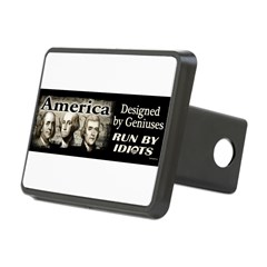Designed by Geniuses Rectangular Hitch Cover