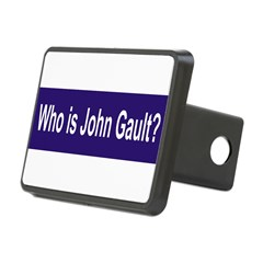 Who is John Gault? Rectangular Hitch Cover