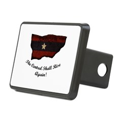 the Central Shall Rise Again Rectangular Hitch Cover