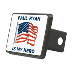 Paul Ryan is my Hero! Rectangular Hitch Cover