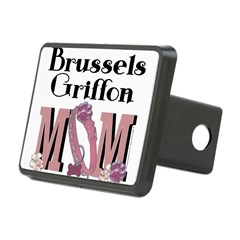 Brussels Griffon MOM Rectangular Hitch Cover