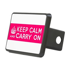 CZARINA PINK Rectangular Hitch Cover