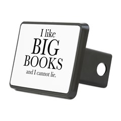 I LIke Big Books Rectangular Hitch Cover