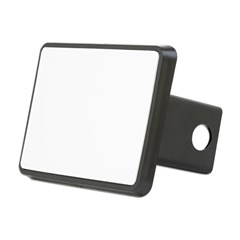 Purple Heart and Butterfly's Rectangular Hitch Cover
