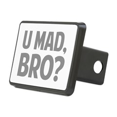 U Mad, Bro? Rectangular Hitch Cover