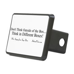 Boxes Rectangular Hitch Cover